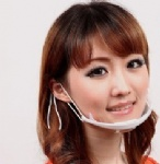 Transparent Plastic face mask